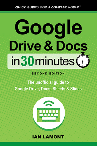 Google Drive and Google Docs book